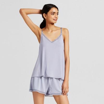 Women's Pajama Set - Gilligan & O'Malley™ Misty Blue L