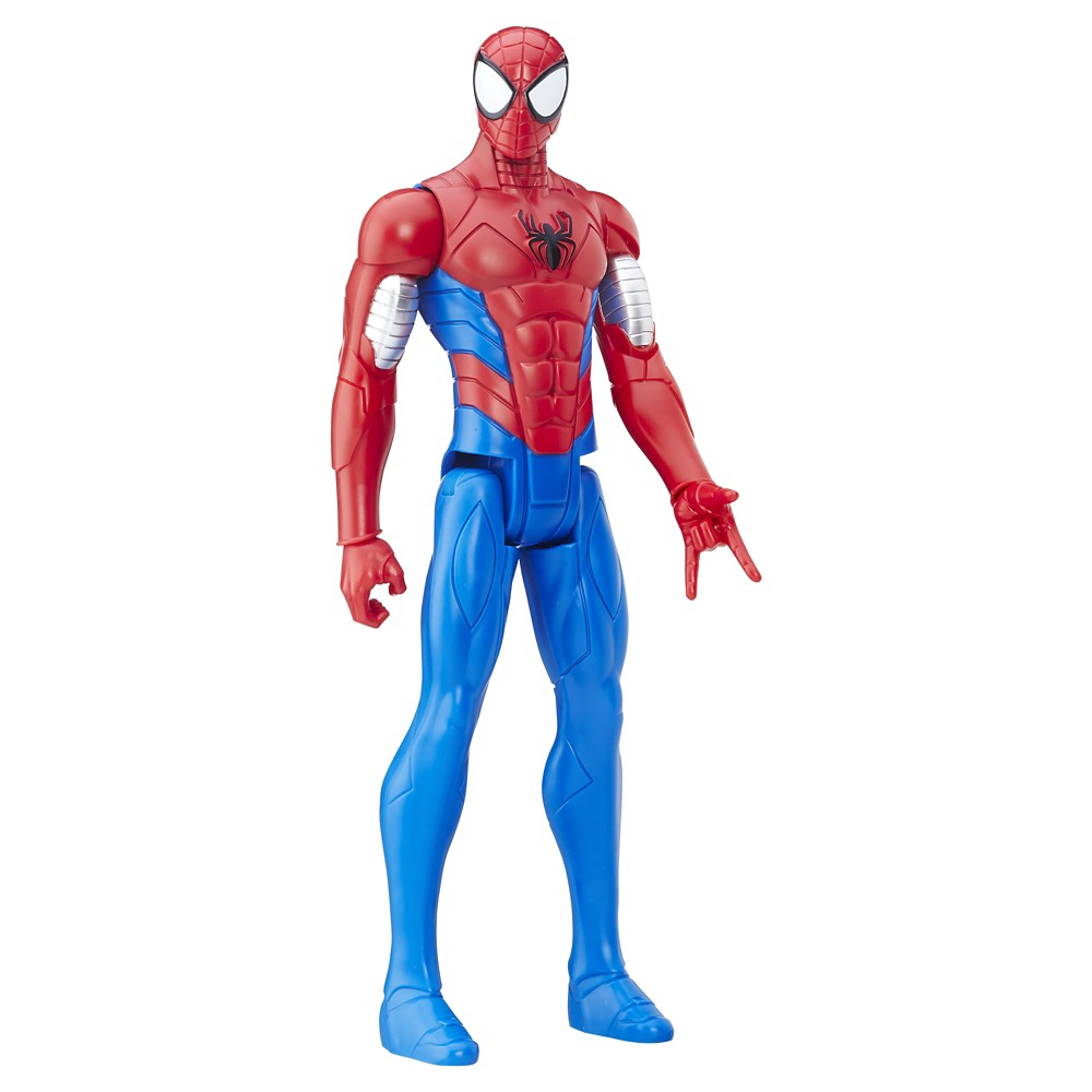 Marvel Spider-Man Titan Hero Series Armored Spider-Man Figure