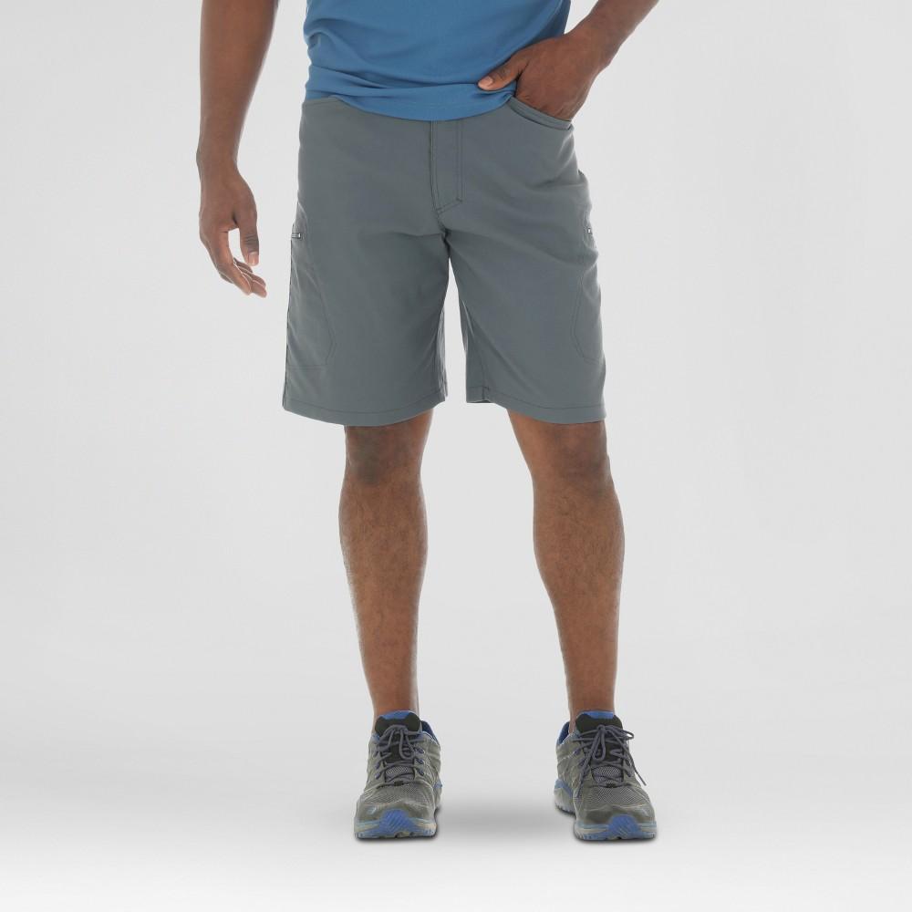 Wrangler Mens Outdoor Series Performance Shorts - Dark Gray 34