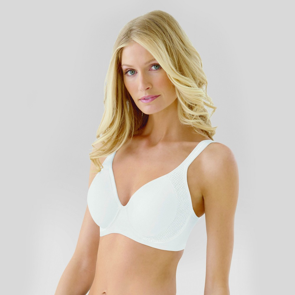 Beauty by Bali Womens Active Underwire Bra B567 White 36C