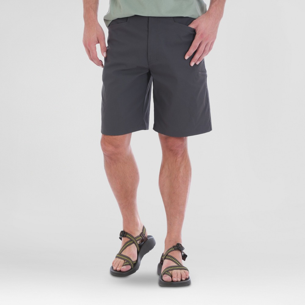 Wrangler Mens Outdoor Series Performance Shorts - Black 42