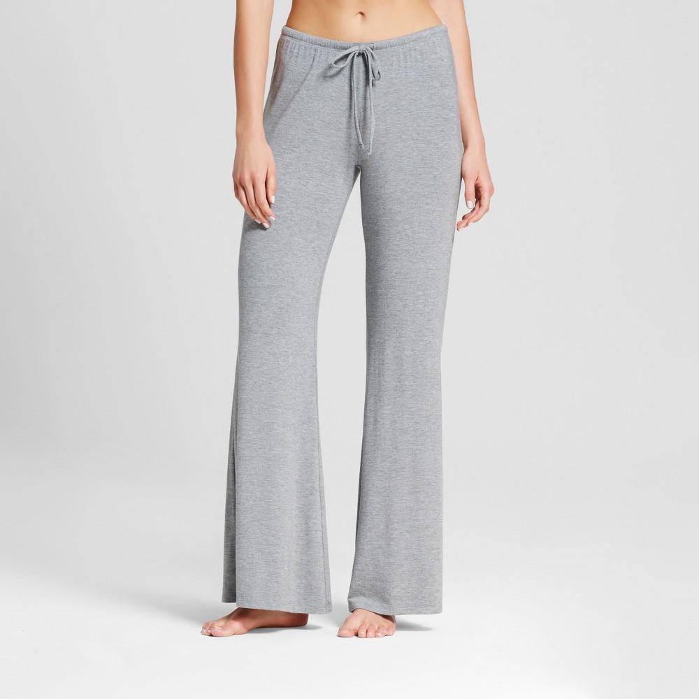 Womens Wide Leg Pajama Pants - Total Comfort - Medium Heather Gray Xxl - Tall, Size: Xxl Long
