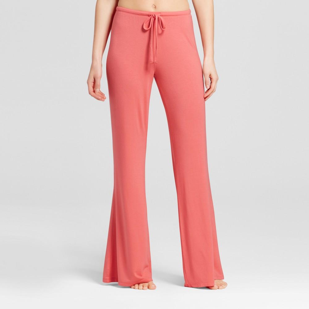 Womens Wide Leg Pajama Pants - Total Comfort - Fifties Pink XL - Tall, Size: XL Long