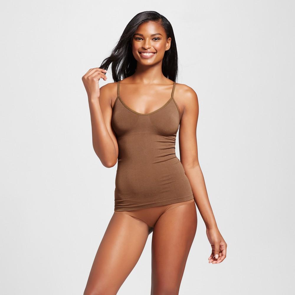 Womens Sleep Camisoles - Cocoa (Brown) XS