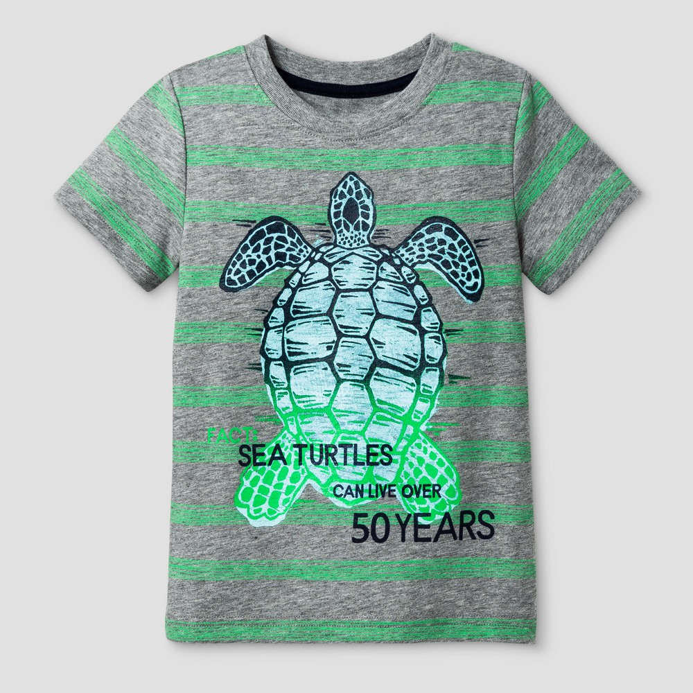 Toddler Boys Graphic T-Shirt Cat & Jack Heather Gray 2T