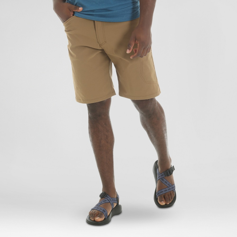 Wrangler Mens Outdoor Series Performance Shorts - Beige 32