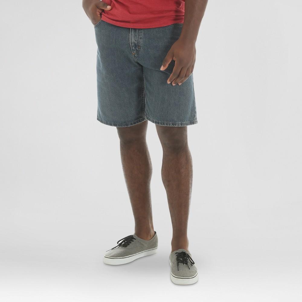 Wrangler 5-Pocket Denim Shorts - Gray 42, Mens