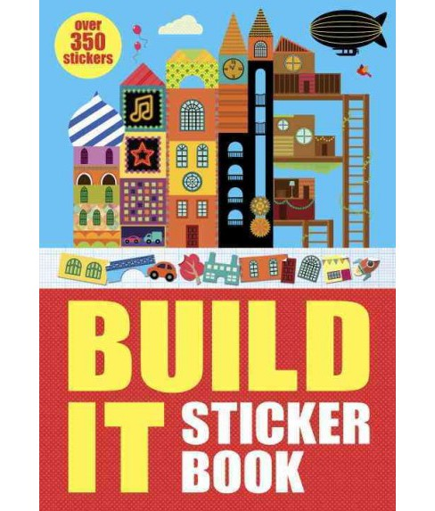 Build It Sticker Book (Paperback) - image 1 of 1