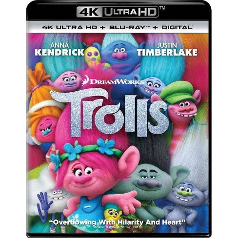 Trolls (4K/UHD + Blu-ray + Digital) - image 1 of 1