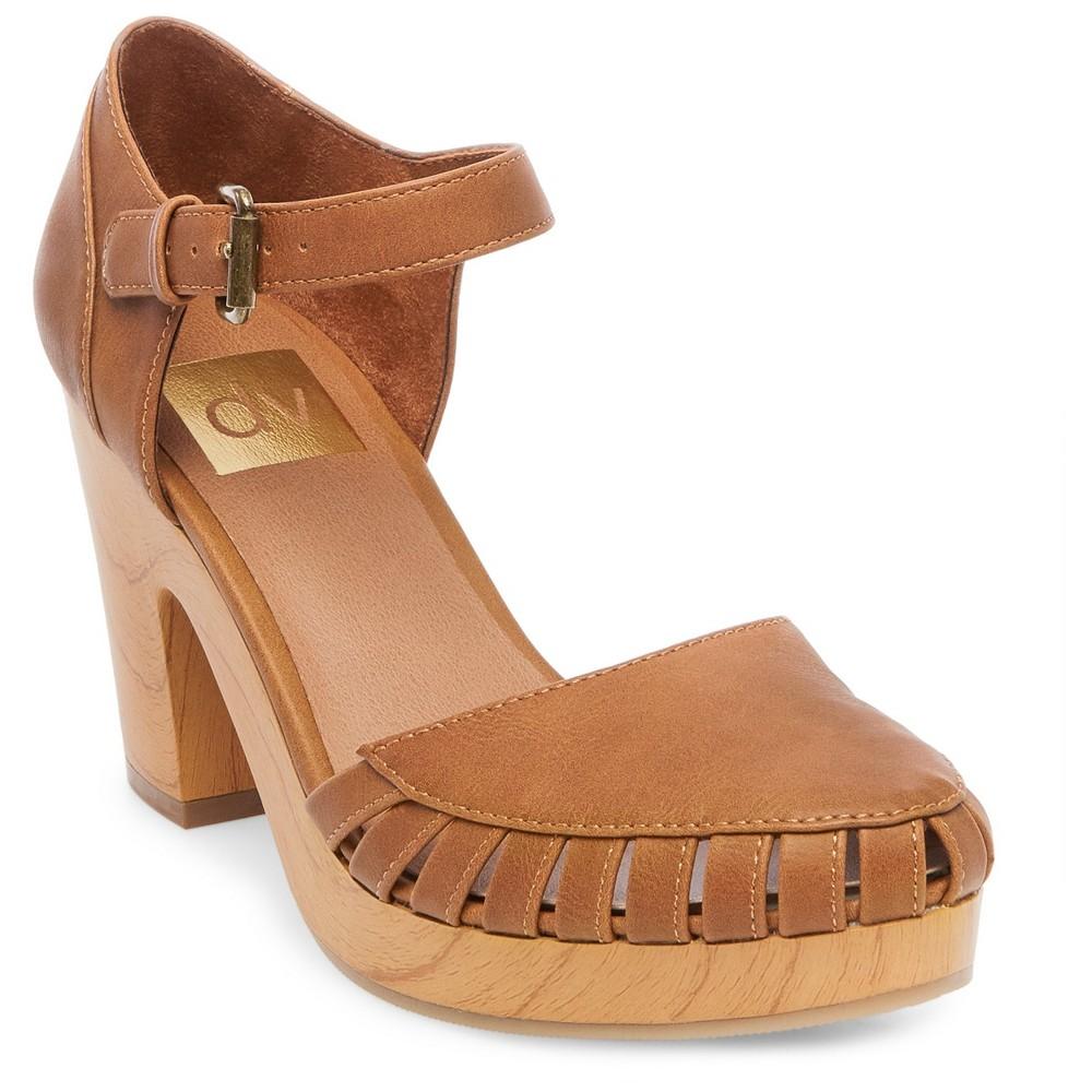 Womens dv Brynna Platform Mary Jane Shoes - Cognac (Red) 8.5