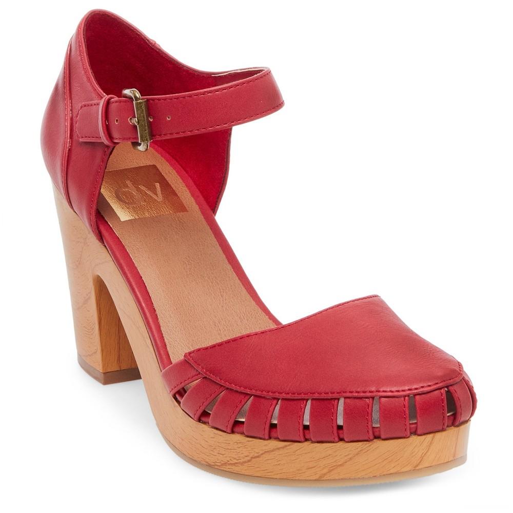 Womens dv Brynna Platform Mary Jane Shoes - Red 8.5