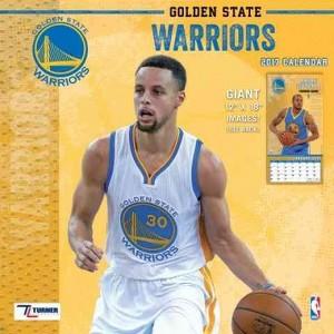 Golden State Warriors 2017 Calendar (Paperback)