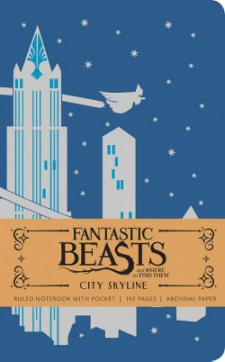 Fantastic Beasts and Where to Find Them Ruled Notebook 2 (Deluxe) (Hardcover)