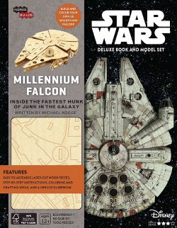 Star Wars Millennium Falcon Deluxe Book and Model Set (Hardcover) (Michael Kogge)