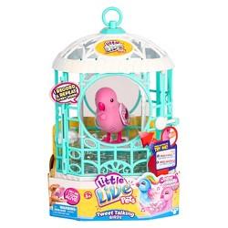 Little Live Pets Tweet Talking Bird W/Cage - Ruby Belle