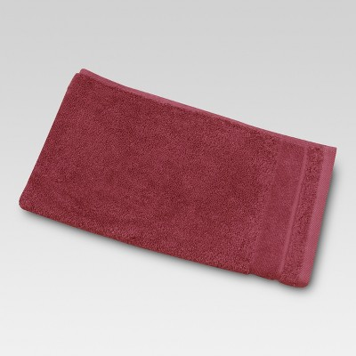 Ultra Soft Hand Towel Wave Dark Red - Threshold™