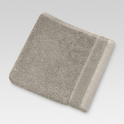 Ultra Soft Washcloth Graystone - Threshold™