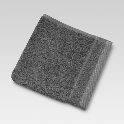 Ultra Soft Washcloth Coffee - Threshold™