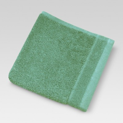 Ultra Soft Washcloth Moss Green 13  x 13  - Threshold™