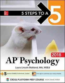 5 Steps to A 5 AP Psychology 2018 (Paperback) (Laura Lincoln Maitland & Rochelle Solomon-Battersby)