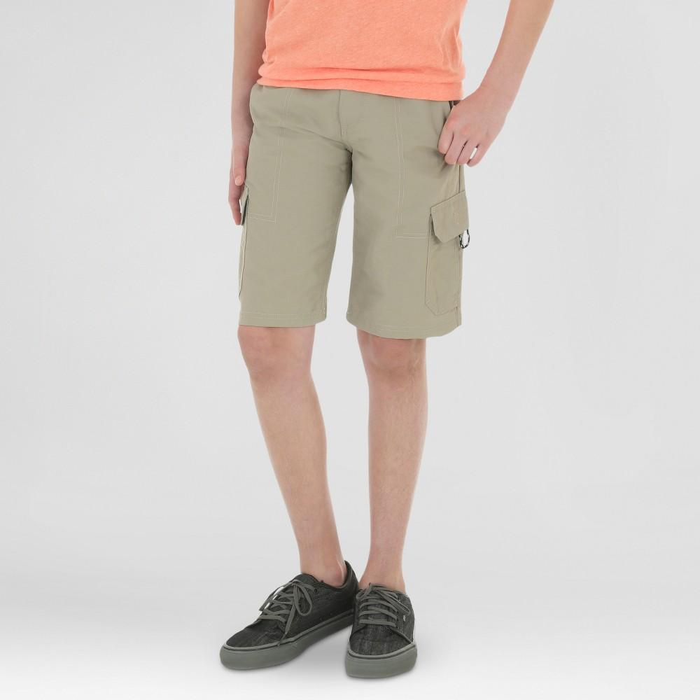 Wrangler Boys Explore Outdoor Cargo Shorts Khaki (Green) 10