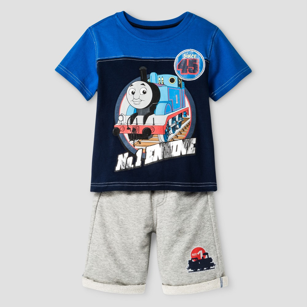 Toddler Boys Thomas & Friends Top And Bottom Set Blue 2T