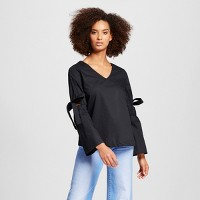 Women's Bell Sleeve Vee - Who What Wear. opens in a new tab.