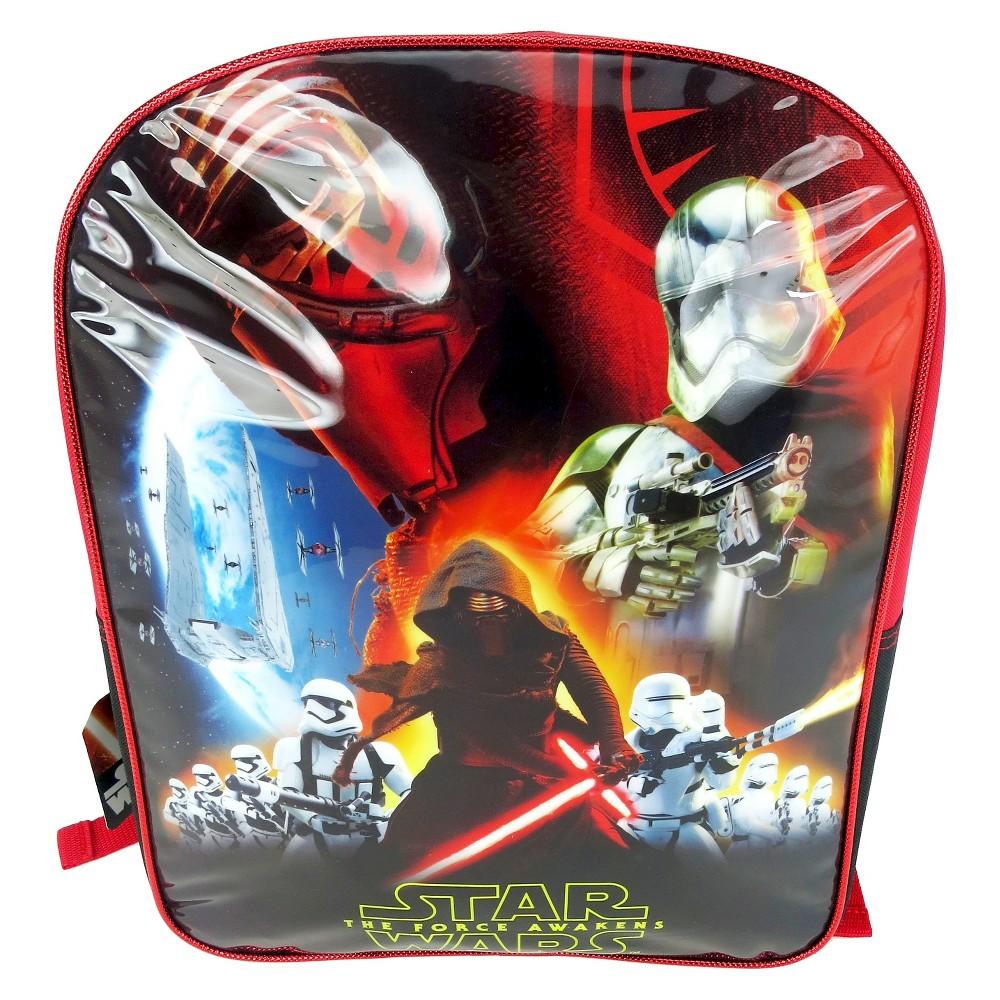 Star Wars 16 Kylo Ren Kids Backpack - Black/Red