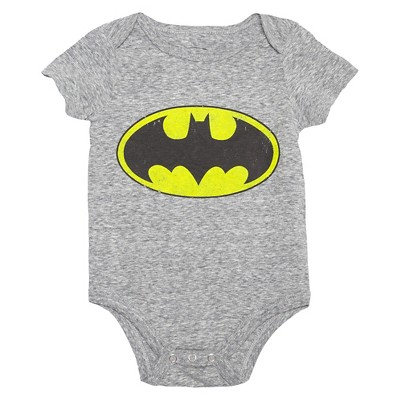 Baby Boys' Batman Bodysuit Gray 3-6M - DC Comics®