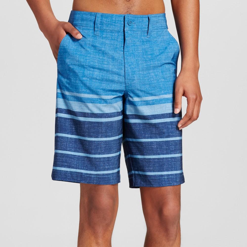 Mens Hybrid Swim Shorts - Mossimo Supply Co. Blue 34
