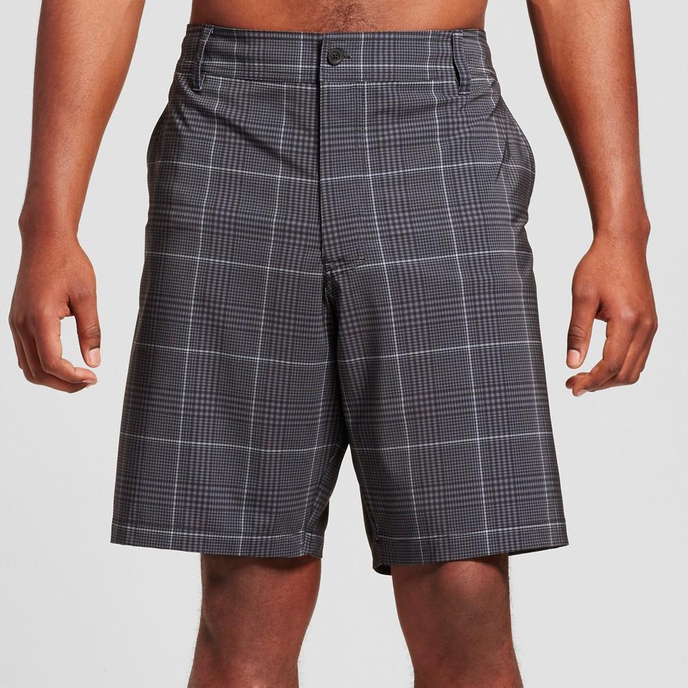 Mens Big & Tall Hybrid Swim Shorts - Mossimo Supply Co. Black 58