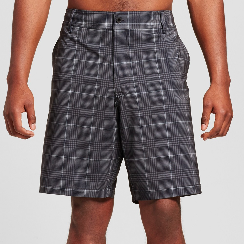 Mens Big & Tall Hybrid Swim Shorts - Mossimo Supply Co. Black 46