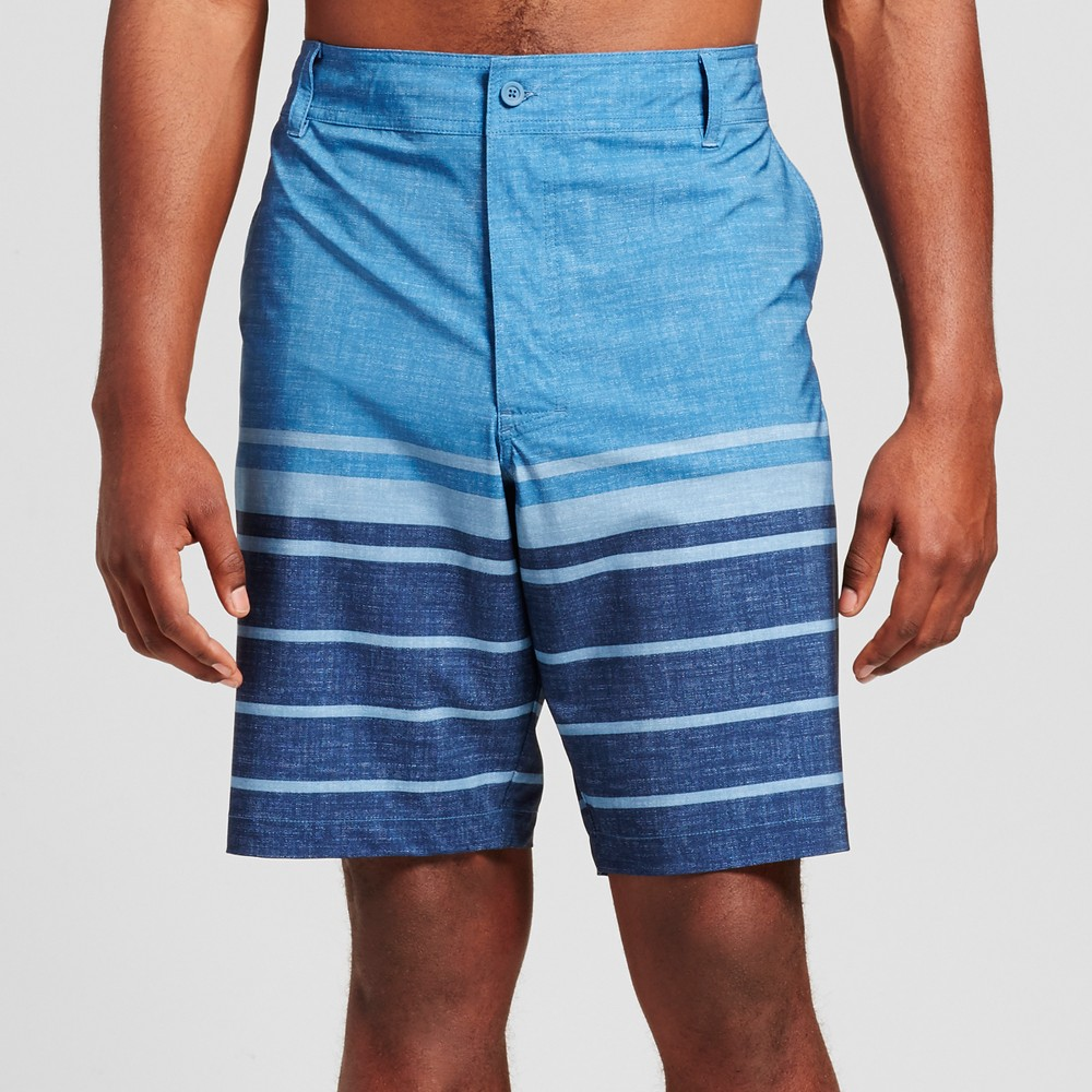 Mens Big & Tall Hybrid Swim Shorts - Mossimo Supply Co. Blue 56