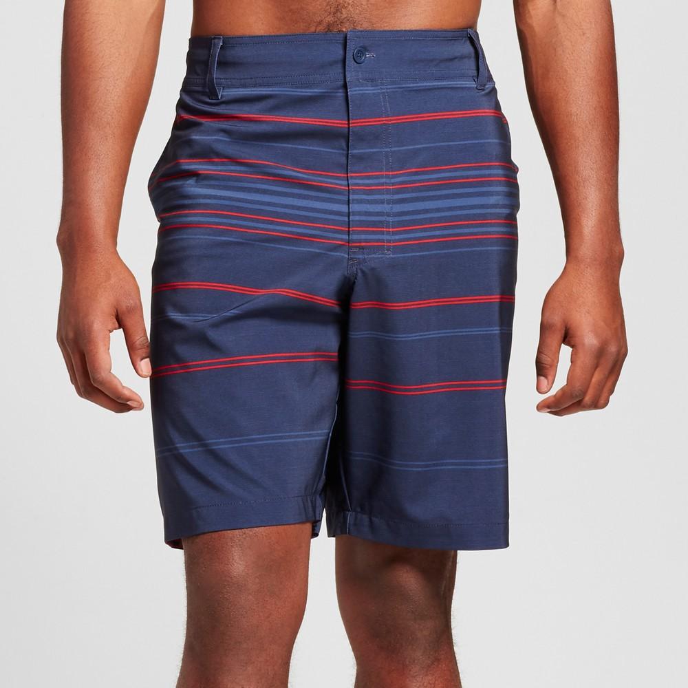 Mens Big & Tall Hybrid Swim Shorts - Mossimo Supply Co. Navy 58, Blue