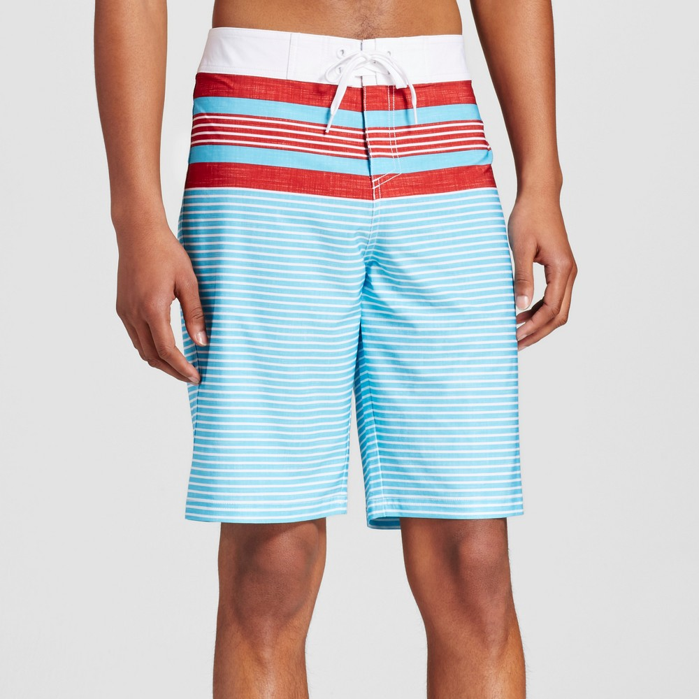 Mens Board Shorts - Mossimo Supply Co. Turquoise 28, Blue