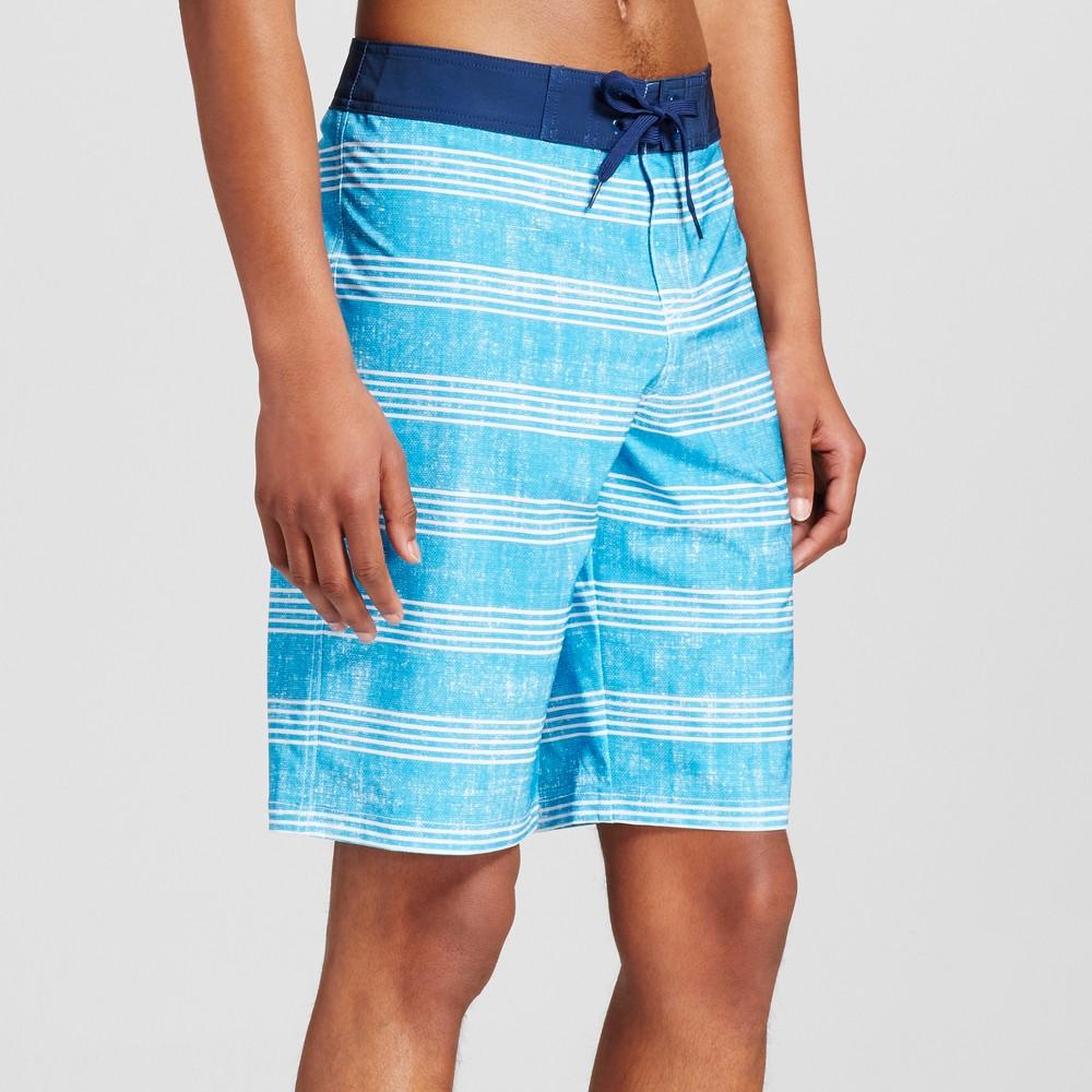 Mens Board Shorts - Mossimo Supply Co. Blue 28