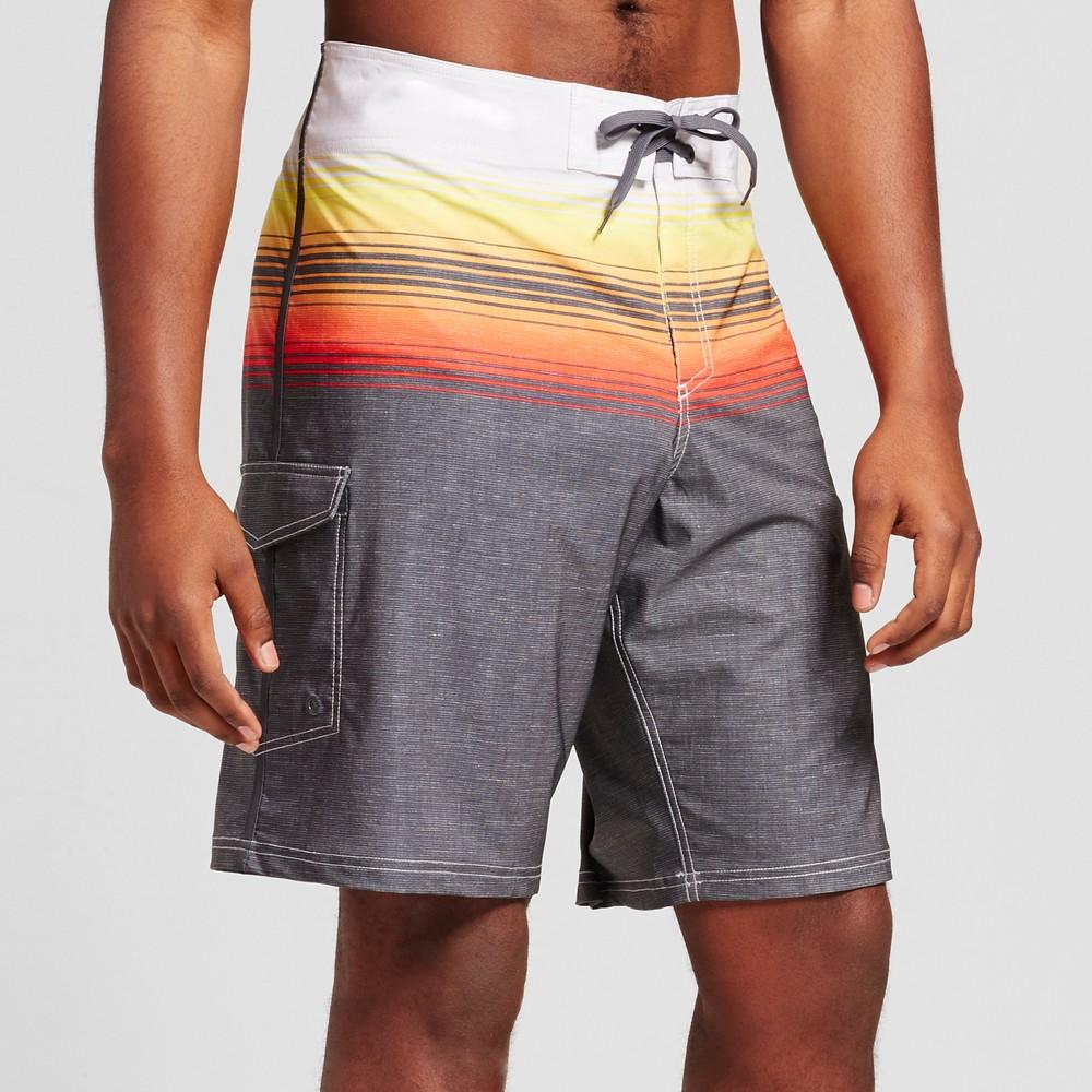 Mens Big & Tall Board Shorts - Mossimo Supply Co. Orange 58