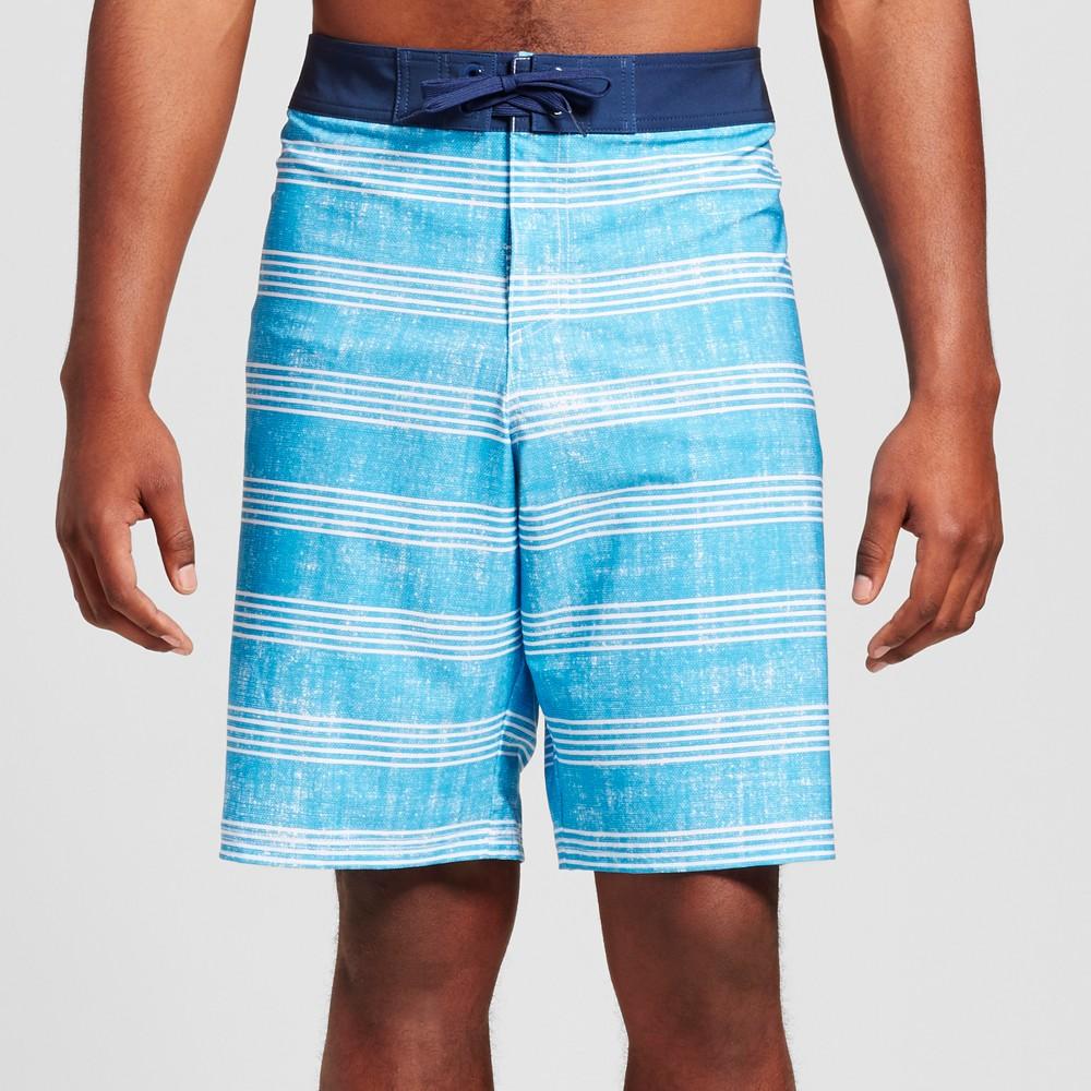 Men's Big & Tall Board Shorts - Mossimo Supply Co. Blue 54