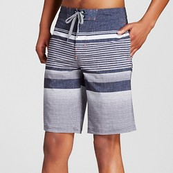 Men's Board Shorts Black Stripe - Mossimo Supply Co.™