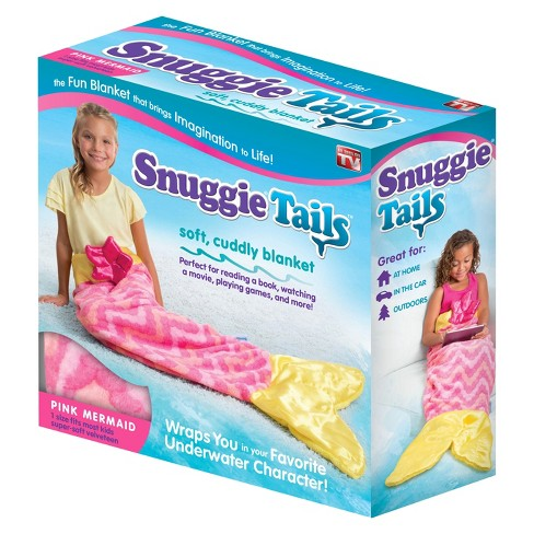 As Seen on TV® Snuggie Tails blanket – Mermaid - image 1 of 4