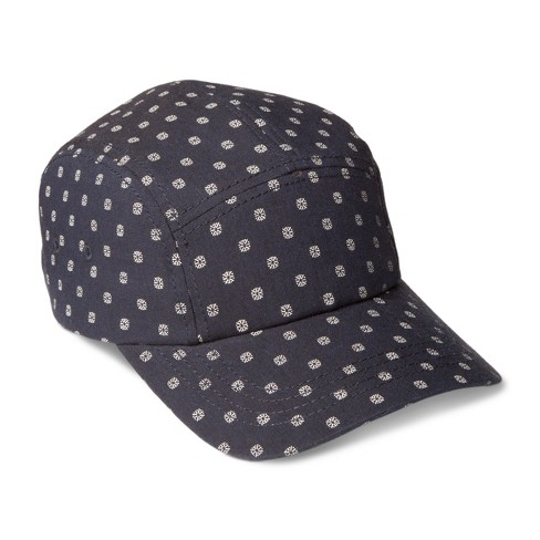 Men's Camper Hat With Tiny Pattern - Navy One Size - image 1 of 2