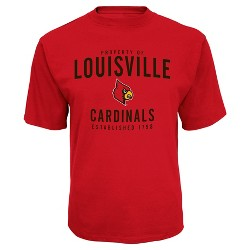 "NCAA Louisville Cardinals Men's ""Property Of"" Performance T-Shirt"