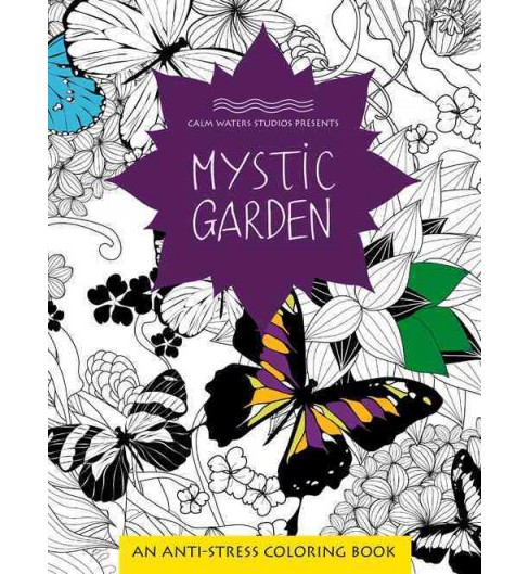 Mystic Garden Adult Coloring Book (Paperback) - image 1 of 1