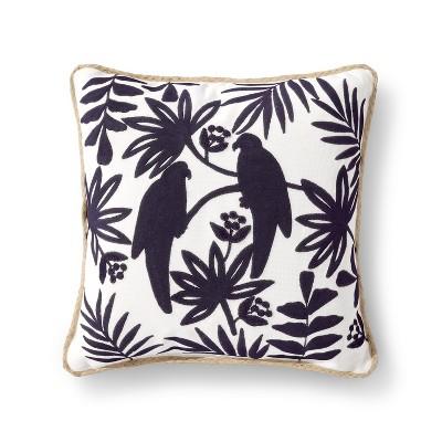 Navy Bird Throw Pillow - Threshold™