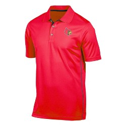 NCAA Louisville Cardinals Men's Tech Polo Shirt