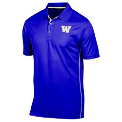 NCAA Washington Huskies Men's Tech Polo Shirt