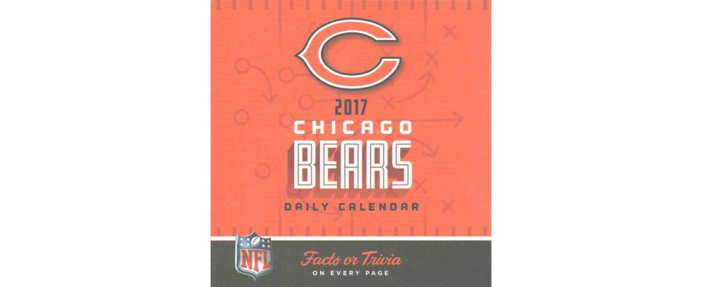 Chicago Bears 2017 Calendar (Paperback)