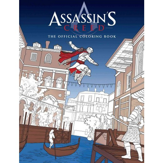 Assassins Creed The Official Coloring Book Paperback