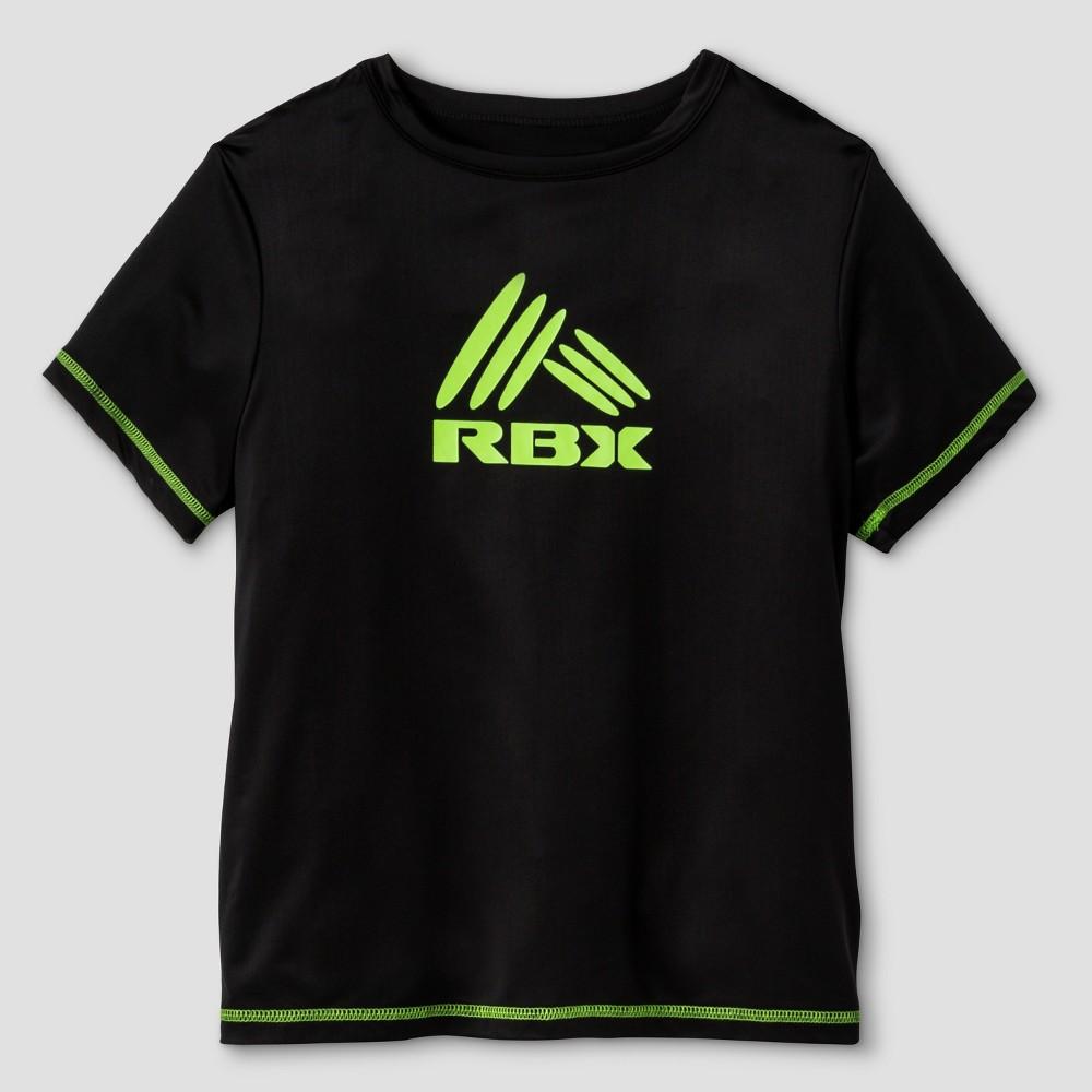 Rbx Boys' Rashguard Top Black XL