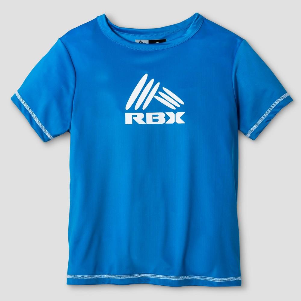 Rbx Boys Rashguard Top Turquoise M, Blue
